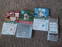 These items are flea and tick control for your dog
