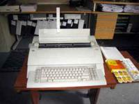 This AEG Olympia (model: Comfort) electric typewriter