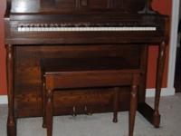 I have an upright piano made by the Aeolian Corp. A