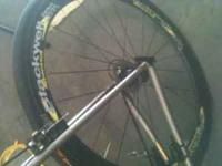 Blackwell Research Deep V 50mm rims laced to DT Swiss