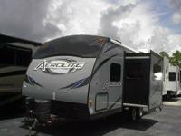 All brand-new ultralight travel trailers. 2014 models
