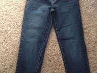 1 pair of aeropostale jeans, women's size 9/10 short,