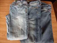 Aeropostale Jeans size 00. 2 pair skinny jeans and 1