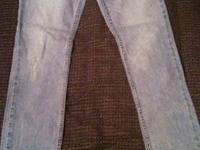 Aeropostale size 5/6 regular skinny jeans $5  CASH