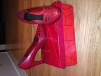Aerosole (brand) red comfortable leather heels. In