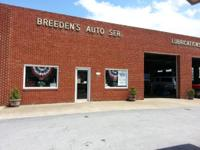 Breeden's Automobile Service. In business for 50+ years