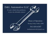 Here at D&L Automotive we have the knowhow and