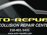 We are an auto collision repair shop that provides high