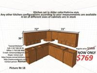 Up for sale cost effective cooking area cabinets!