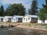 Air conditioned cabins $725 per week for up to 4