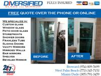 AFFORDABLE WINDOW REPAIR. GLASS AND MIRROR REPAIR