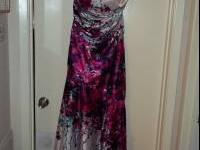 Size 10 beaded halter great condition dry cleaned Size
