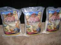 60 pounds of sand for a african cichlid tank i paid a