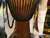 "African Dance Djembe Drum On SaleGambia24"" High x 14"""
