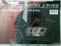 it is a kit to make 2 car windows electric, has wires,