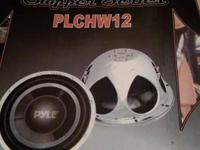 i have 2 pyle 12 in subs one in box with 280 watt amp