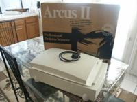 Agfa Arcus II Flatbed ScannerKey FeaturesScanner Type: