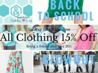 Agnes & Dora by GabbyLou is having a back to school