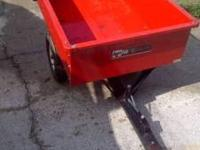 Agri-Fab 10 cubic ft dump trailer great condition