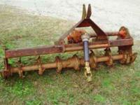 Agric Rotary Tiller 3 point hitch Good condition Needs