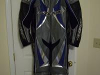 Here is a brand new without tags AGV one piece leather