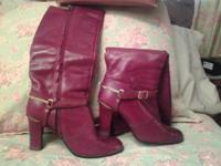 Aigner Boots for sale, size 8M worn but in super good