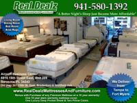 GENUINE DEALZ MATTRESSES and FURNISHINGS.   SHOP and go