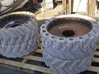 Air Boss Tires Non-Marking Solid Tires  This site