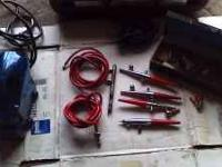 for sale 5 air brushes, compressor and various other