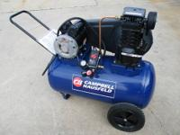 Campbell Hausfeld 20 gal 2 hp Air Compressor for sale