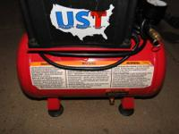 Air compressor by Ultimate Solution Tools with this air