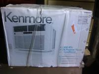 by Kenmore all electronic 12000 btus Will cool a whole