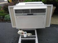 We have a 15,100 BTU Frigidaire air conditioner  with a