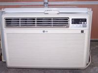 LG brand Window Air Conditioner; Model LWHD2500ERY7;