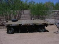 "SUPER COOL ALUMINUM DECK MUNITION TRAILER ""MODEL MHU"