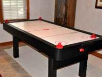 Like new, Air Hockey Table! Works perfectly!! Great for