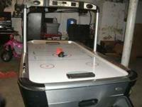 I have a air hockey table in really good condition