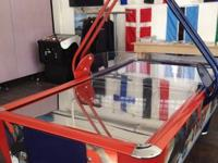 Air Hockey coin operated commercial table. Set to run