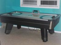 I have a really nice Sportcraft air hockey table with