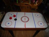 SELLING THE KIDS AIR HOCKEY TABLE THAT THEY GREW OUT OF
