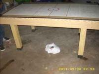 I am selling a nice air hockey table i just need it