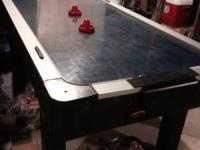 Air hockey table  6 ft x 3 ft table Call Rose    show