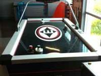 Easton electric8 foot Regulation Air Hockey Table that