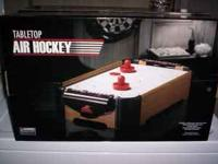 Up for viewing today is a brand new air hockey table