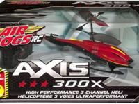 Air Hogs RC Axis 300X -Red R/C Helicopter Experience