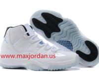 Air jordan 11 white legend blue sneaker arrived, both
