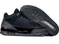 Nike Air Jordan Retro 3 Black/Cat Size-8.5, 12 New in