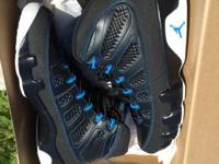VVVNDS black/photo blue retro 9's with box for sale