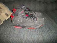 Used air jordan shoes. size 13 US, 12 UK. very used.