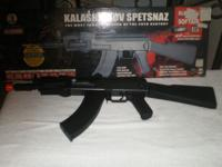 THE NEW MODEL AK 47 AIR SOFT VERY POWERFUL SHOOTS UP TO